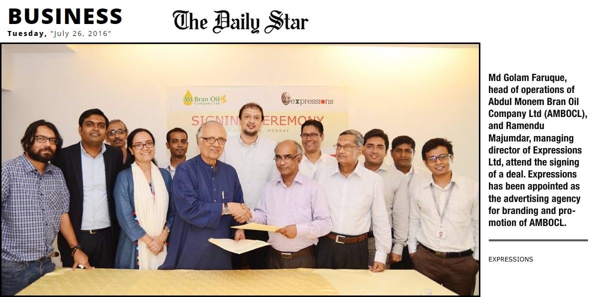 AM Bran Oil Company Ltd  signed a contract with expressions