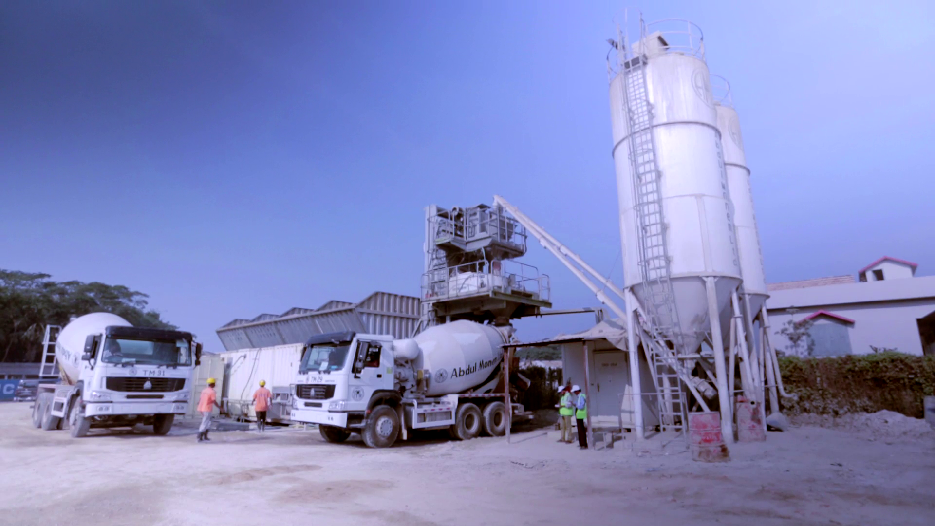 Abdul Monem Ready Mix Concrete unit